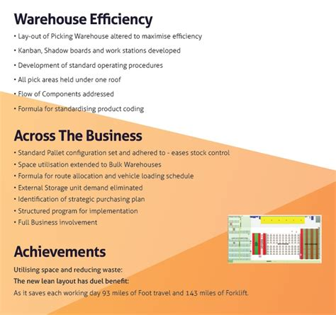 warehouse layout case study lean warehouse case study