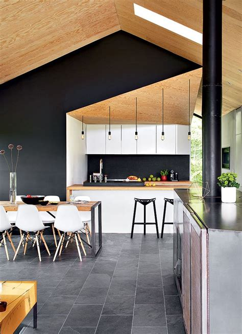 une cuisine avec vue building  house home home decor