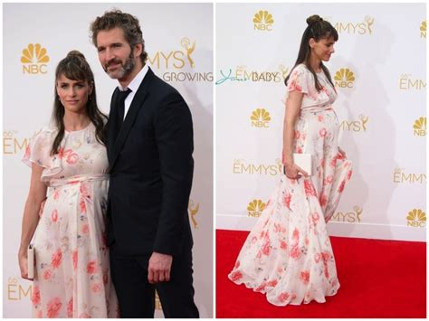 Amanda Peet And Husband Welcome Baby by Amanda Peet At The 66th Annual Primetime Emmy