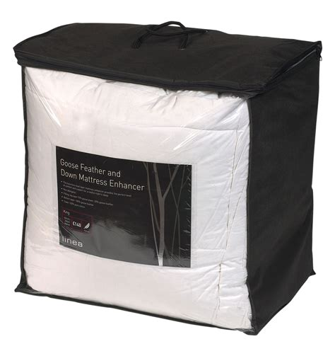 goose and down feather mattress topper single double king double mattress topper