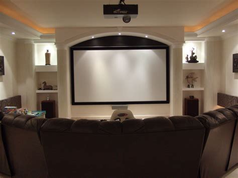 Movie Theater Home Decor by Home Theater Screens Archives Visual Apex Home Theater