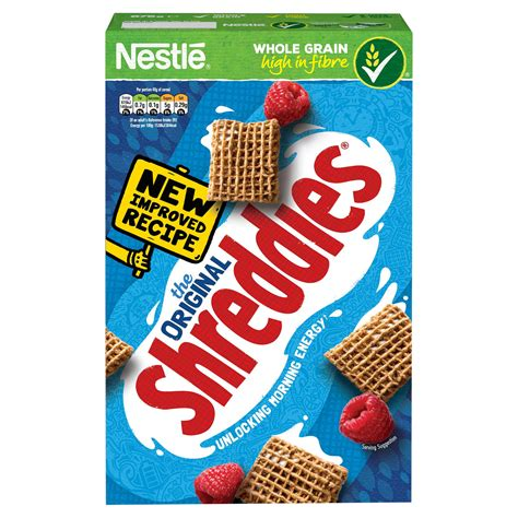 nestle original shreddies cereal 675g box kids cereal
