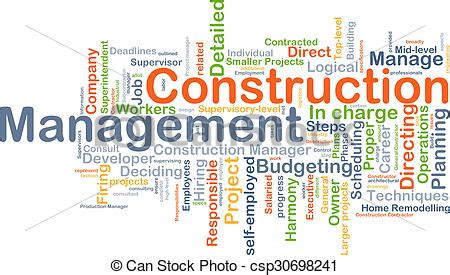 Can I Get A Mba With Construction Management by Drawing Of Construction Management Background Concept