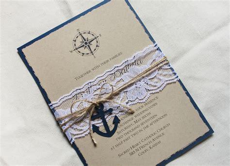 Wedding Invitations Nautical Theme by Wedding Invitation Nautical Theme Chatterzoom