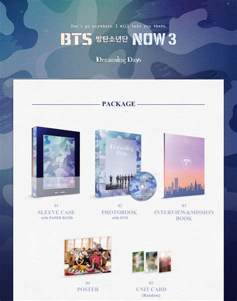Bts Now 3 | bangtan boys now3 bts in chicago dreaming days photobook