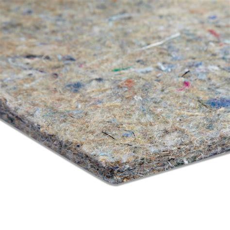 quality pu foam wool felt underlays