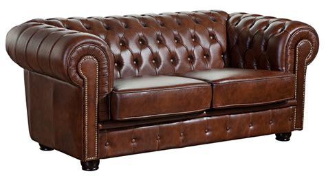 sofa norwin 2 sitz braun echtleder max winzer