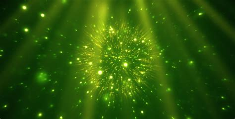 magical particle sphere green by vkr videohive