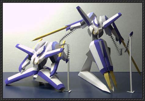 Mecha Papercraft - poseable delphinion free mecha papercraft