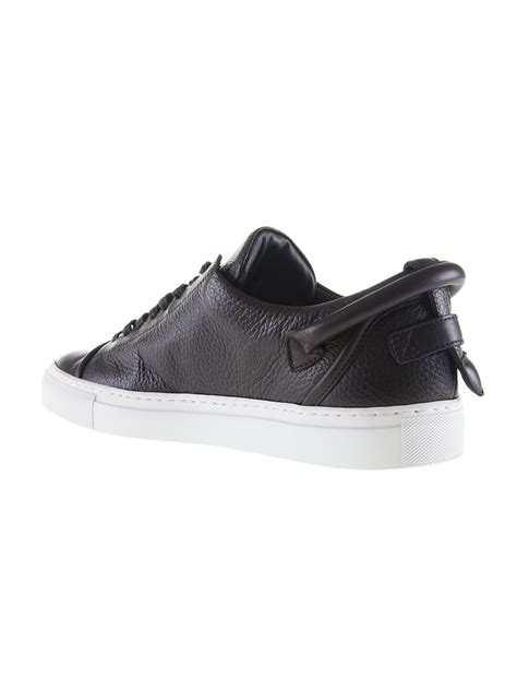 buscemi sneakers mens buscemi 50mm low top sneakers in black for lyst