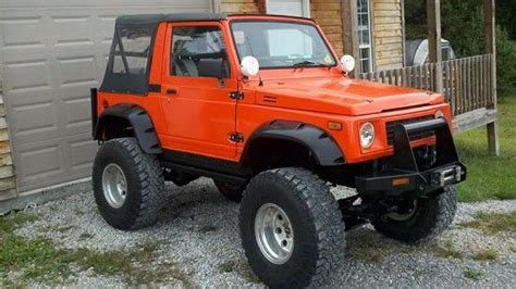 suzuki samurai lifted truck sale lifted trucks and samurai on pinterest