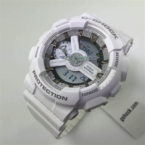 s casio g shock s white analog digital