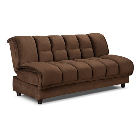 bed sleeper sofa futon sofa bed espresso american signature