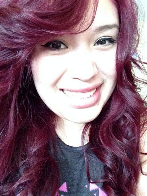 loreal hi color magenta loreal hicolor magenta my hair hair we care