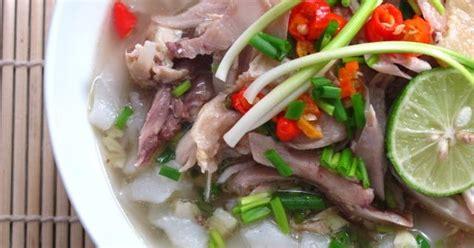 membuat mie beras homemade mie beras dan ayam kuah jahe just try taste