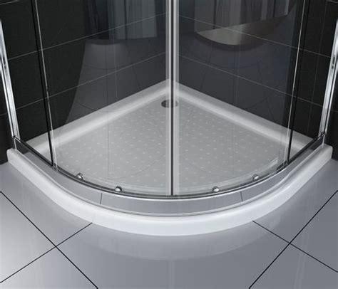 duschkabinen für badewannen duschkabine fresh 90 x 90 x 195 cm viertelkreis ohne