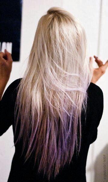 hairstyles long hair dip dye cute hairstyles for long straight hair dip dyed pastel