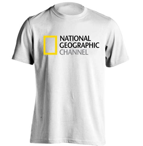 national geographic channel logo mens womens cool t