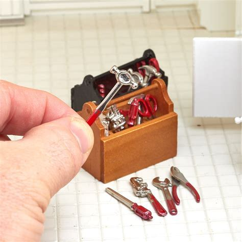 Miniature Tools and Tool Box   What's New   Dollhouse