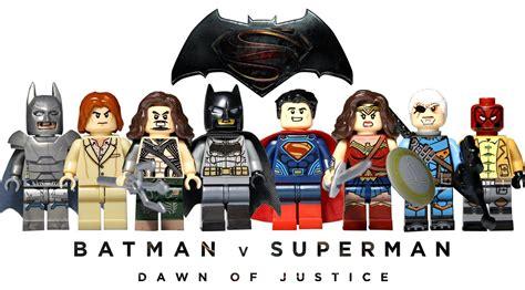 Lego Superman Vs Batman lego batman v superman knockoff minifigures