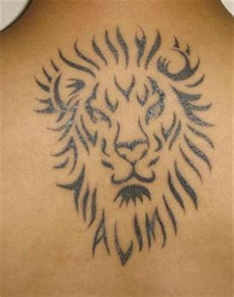 minimalist tattoo lion minimalistic tribal lion tattoo tattooimages biz