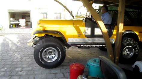 jeep cj   amc  youtube