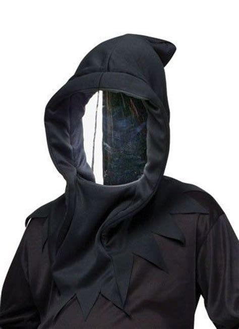 black mirror halloween costume details about mirrored invisible mask costume black hood