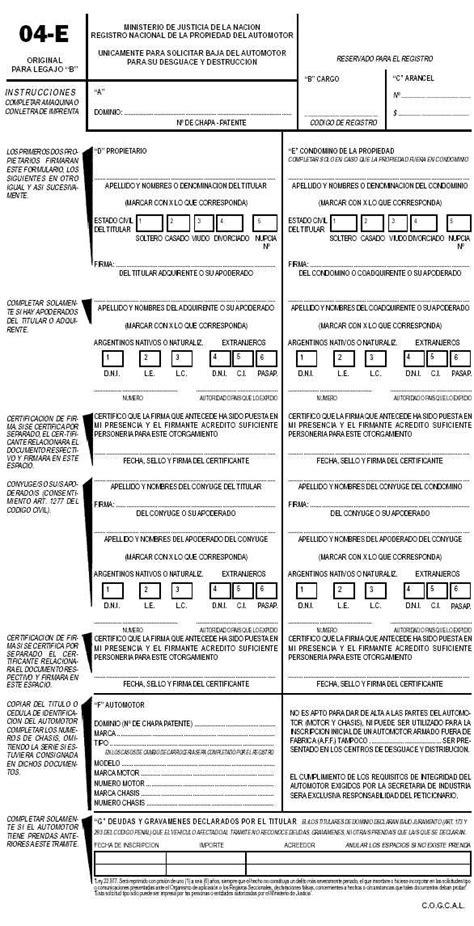 dnrpa direccion nacional de registros nacionales de registros nacionales de la propiedad automotor y