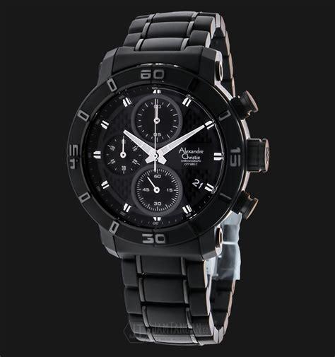Jam Tangan Alexandre Christie Chronograph 5 Atm alexandre christie ac 6292 mc bipba chronograph black