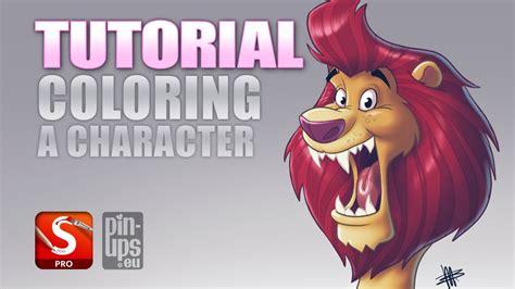 autodesk sketchbook pro tutorial coloring  character