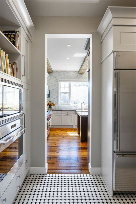 walk  pantry ideas transitional kitchen veranda