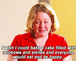 Vanity Qoutes I Wish I Could Bake A Cake Filled With Rainbows And Smiles