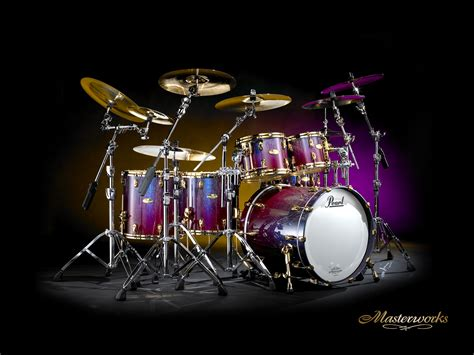 Kaos 3d Umakuka Drum Set drums desktop wallpaper drums backgrounds cool wallpapers i the drums