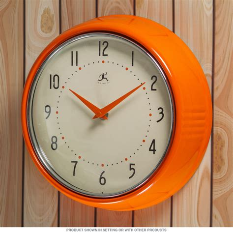 kitchen clocks orange wall clock pictures wall clocks