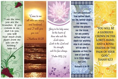 free printable inspirational bookmarks templates free bookmarks to print designs bible verse bookmarks by