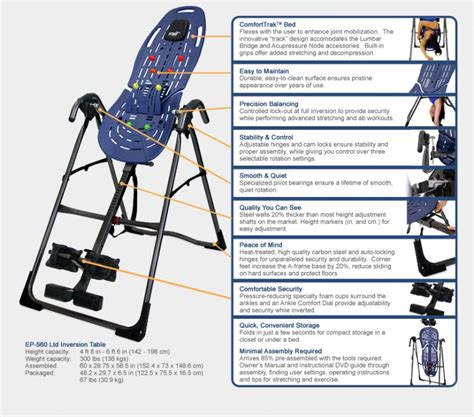 teeter hang ups ep 560 sport inversion table fitnesszone