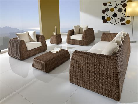 mobili giardino outlet divano esterno rattan sintetico alta qualit 224 tropic shop