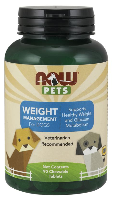 weight management for dogs weight management chewable tablets for dogs now foods