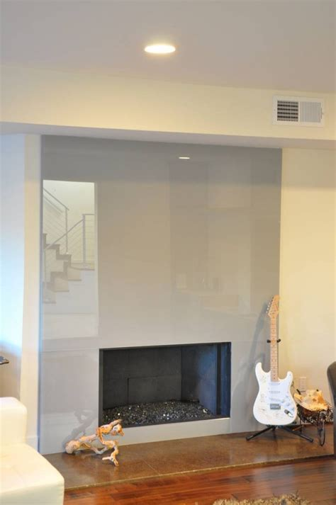 modern glass fireplace mount olympus los angeles contemporary bathroom and