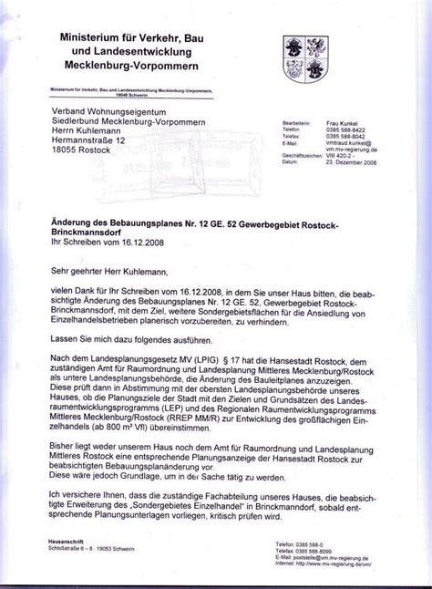 Anschreiben Aushilfe Norma Gewerbegebiet Brinckmansdorf S 252 D Verband Wohneigentum E V