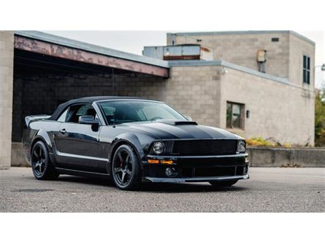 2008 ford mustang roush stage 3 for sale classic ford mustang roush for sale on classiccars
