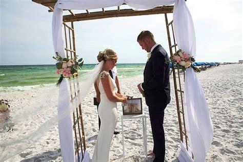 Wedding Dresses Destin Fl by Wedding In Destin Fl Florida Destination Wedding