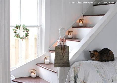 Wall Decor Ideas For Small Living Room it s a farmhouse christmas town amp country living