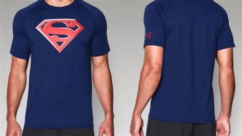 T Shirt Armour Superman 2 armour alter ego superman 2 0 shirt