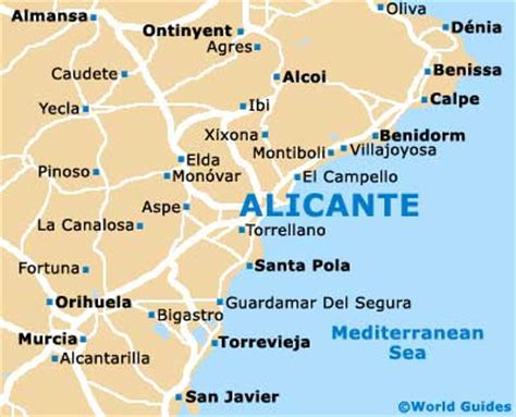 alicante attractions nearby alicante costa blanca spain
