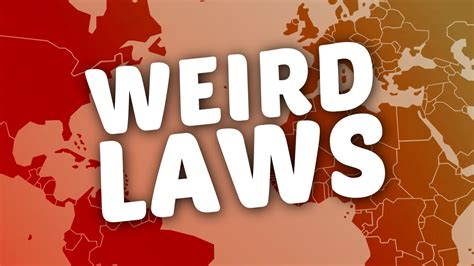 Strangest Laws In The World by 11 Laws Around The World A1facts