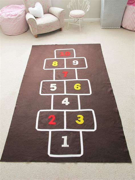 Hop Scotch Mat by Hopscotch Mat Pattern By Coolspacesforkids On Etsy