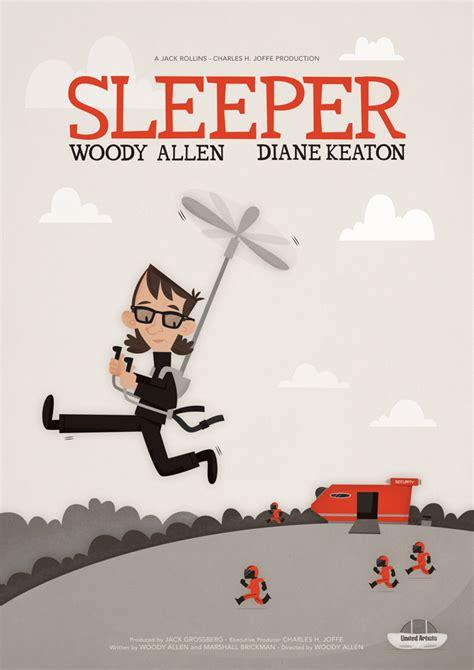 Sleepers Poster Sleeper 1973 Minimal Poster By Galesloot