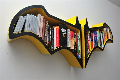awesome batman bat symbol wall shelf mightymega