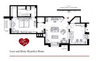 Love lucy lucy and ricardo s home floor plans